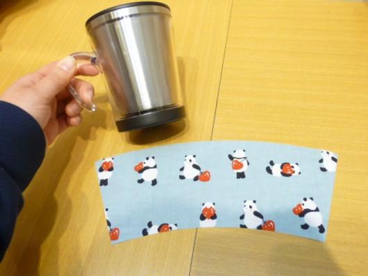 ハートパンダマグカップ