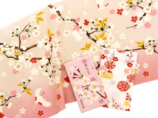 濱文様の桜