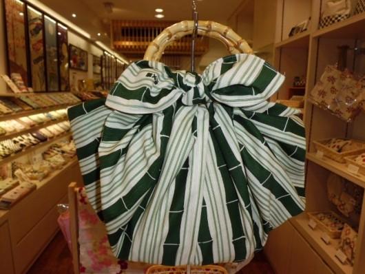 大布 竹×竹ハンドル ふろしきバッグ