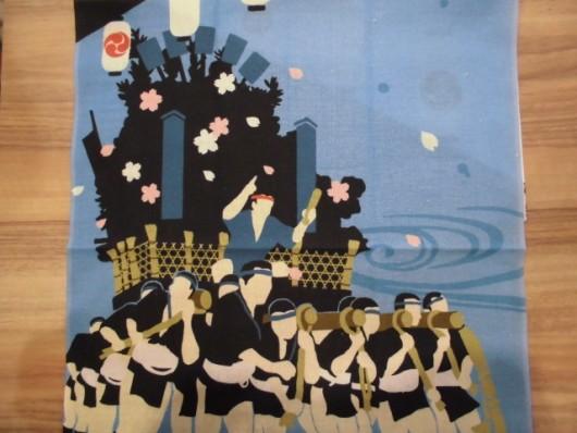 博多祇園山笠絵てぬぐい