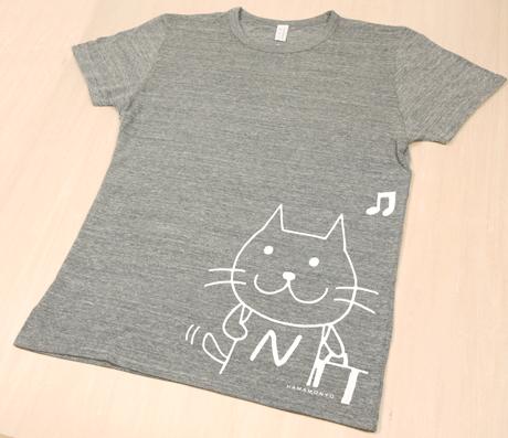にゃっぽりTシャツ