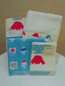 てぬぐい 富士山かき氷 Tenuguiたおる 富士山かき氷 セミウォッシュ MT.かき氷 てぬはん 富士山かき氷