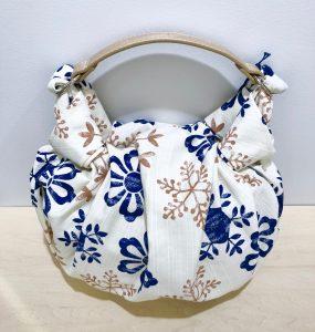 風呂敷バッグ「雪華モダン」